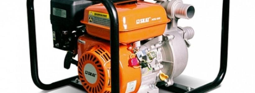 Бензиновая или дизельная мотопомпа