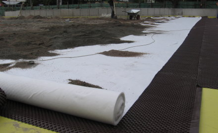 Геосинтетические материалы в дорожном строительстве