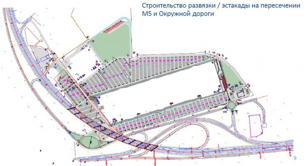 Что строят на Московском шоссе в Рязани в районе Дягилево?