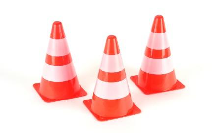 Средства дорожной разметки, сигнальные дорожные конусы