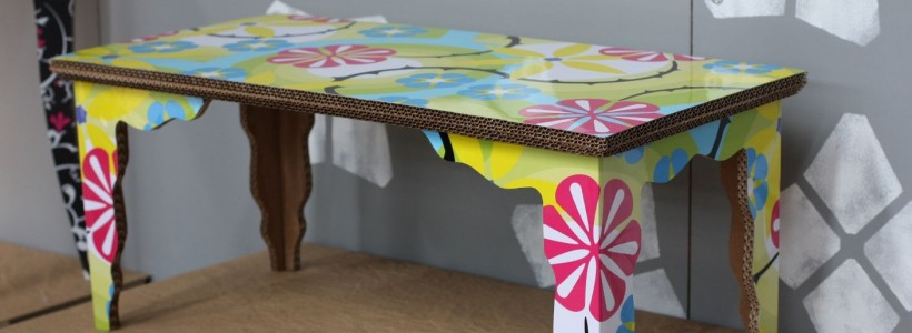 Фантастические возможности мебели из картона