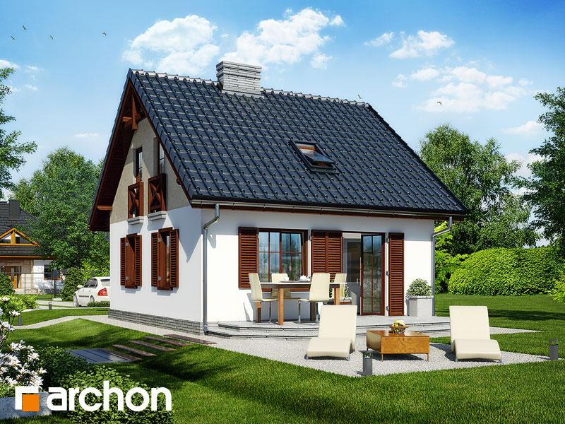 Проект дома из керамических блоков площадью 63 м2