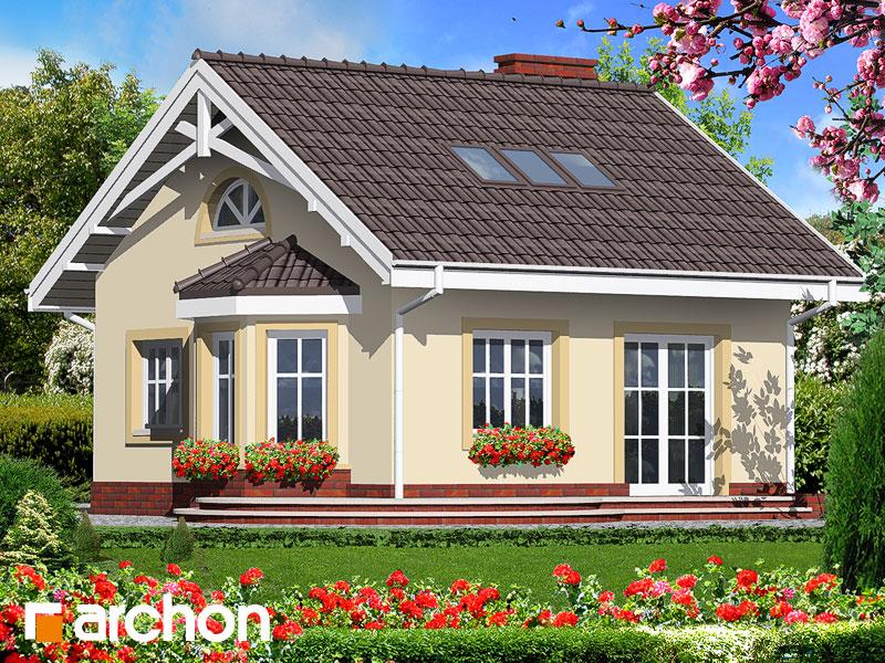 Проект дома из керамических блоков площадью 62,2 м2