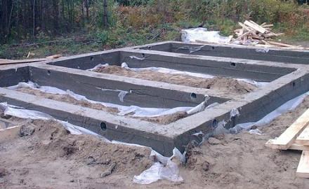 Как залить фундамент дома 6 на 6 инструкция с фото