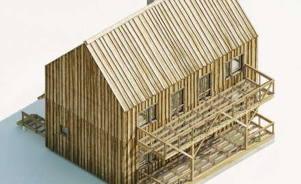 Создать новый проект деревянного дома или воспользоваться типовым?