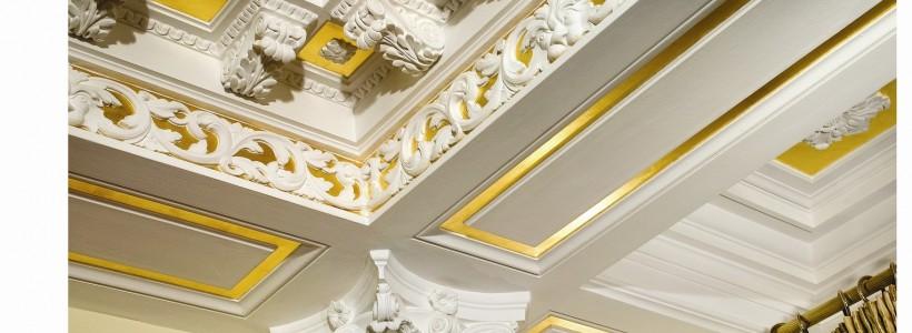 Лепнина для украшения фасадов и интерьеров