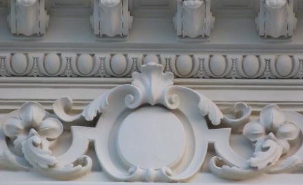 Лепной декор фасадов