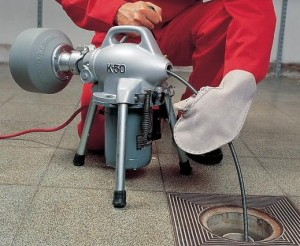 механическая прочистка канализационных труб