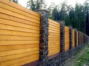 Деревянный забор (фото, цена, для дачи, штакетник)