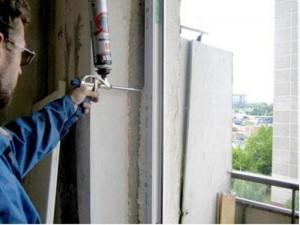 неправильная гидроизоляция при монтаже окон