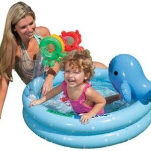 Бассейн INTEX И57400 из трех колец с надувными игрушками. Для детей от трех лет. Удобный бассейн Intex доставит вашему ребёнку много приятных впечатлений в жаркую, солнечную погоду. Он имеет мягкие, надувные бортики, которые не только добавят...