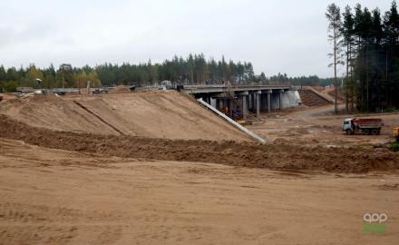 На обходе села Кирицы на трассе М-5 «Урал» построят 4 моста