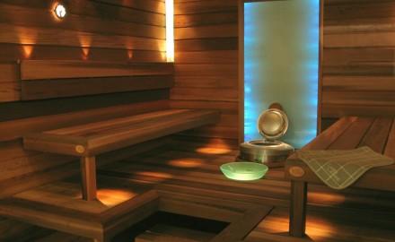 Современные светильники для саун термостойкие: особенности устройства оптоволоконных систем