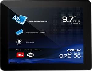 Где купить планшет Explay sQuad 9.72 16GB 3G в Рязани по цене 9970 рублей (Элекс, Техносила, М-Видео, Эльдорадо)