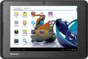 Где купить планшет Rolsen RTB 7.4D Run в Рязани по цене 7360 рублей (Элекс, Техносила, М-Видео, Эльдорадо)