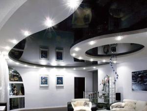 Как выбрать стиль натяжного потолка?