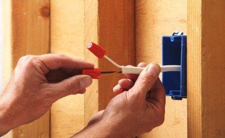 Электромонтажные работы в загородных домах