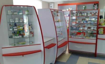 Мебель и торговое оборудование для аптек