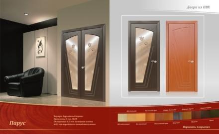 Новый сегмент рынка дверей – двери облицованные ПВХ