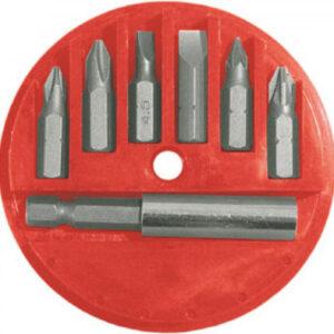 Набор инструмента FIT Биты набор 6 шт. CrV, 25 мм (57621)