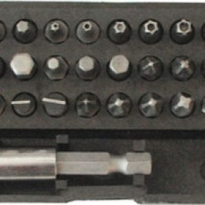 Набор инструмента FIT Набор бит 31 шт. CrV (57854)
