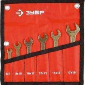 Набор ключей ЗУБР 2703-H6 6 предметов