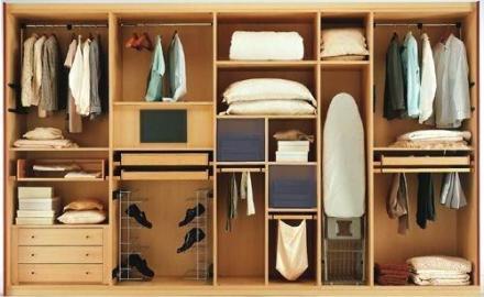 Грамотная внутренняя начинка шкафа-купе – оптимизация пространства