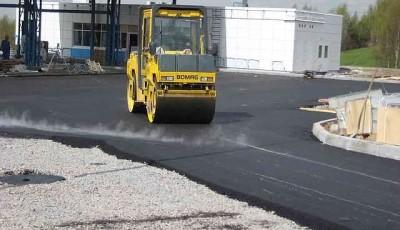 Технология укладки асфальта для дорожного покрытия