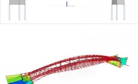 В Рязани началось строительство пешеходного моста через реку Павловка