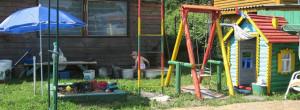 Средство против кротов при обустройстве детской площадки