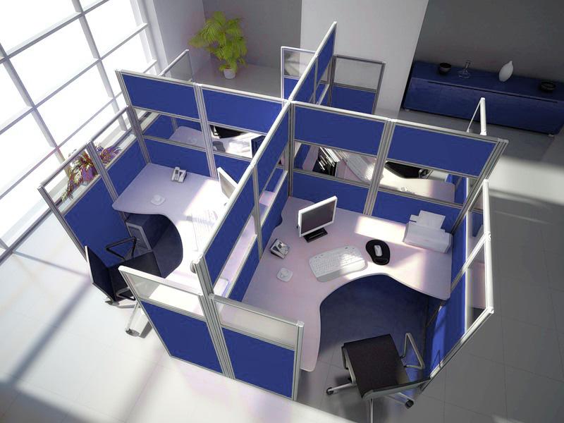 Офисные перегородки – уют на рабочем месте!