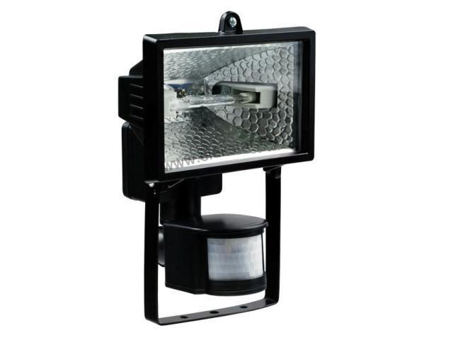 Прожектор с датчиком движения - инструкция по подключению