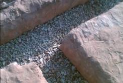 Траншея под фундамент для дома из пеноблока [3]