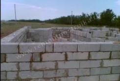Возведение стен из пеноблоков [2]