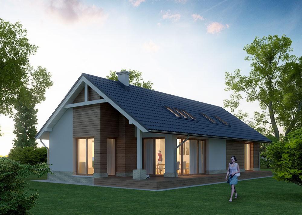 Возведение загородного дома из пеноблока