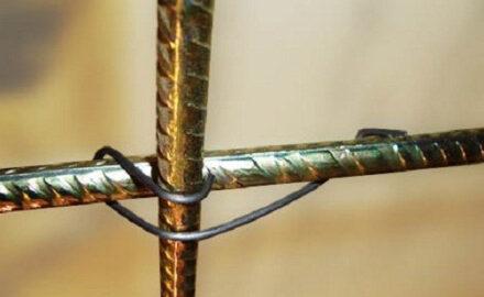 Способы вязки арматуры для фундамента