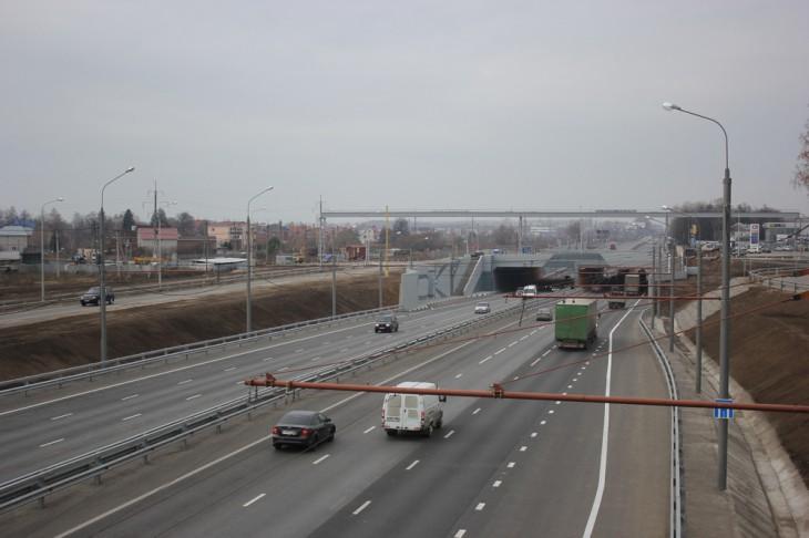 Тоннель в Дягилево