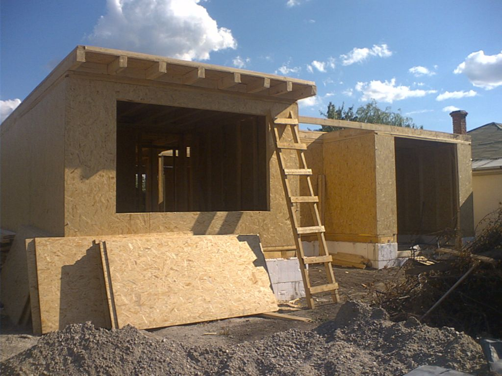 Виды каркасного домостроения