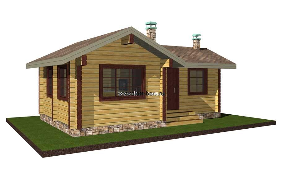 Дома деревянные проекты 6х8 [1]