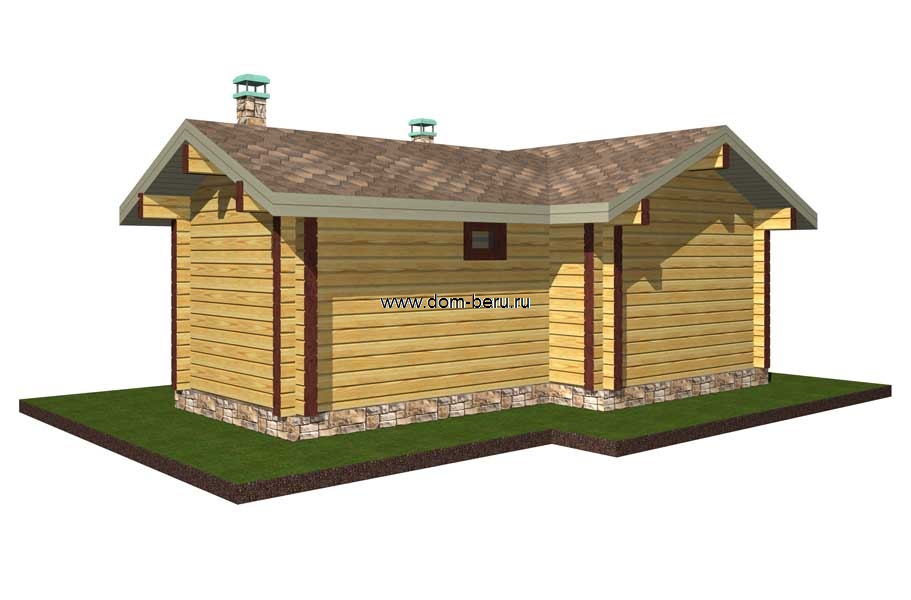 Дома деревянные проекты 6х8 [4]