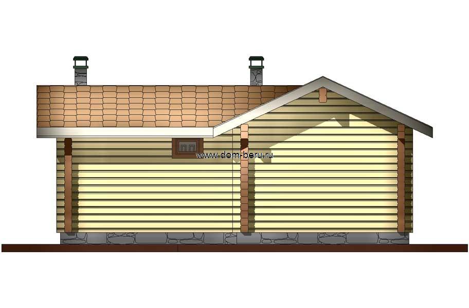 Дома деревянные проекты 6х8 [5]