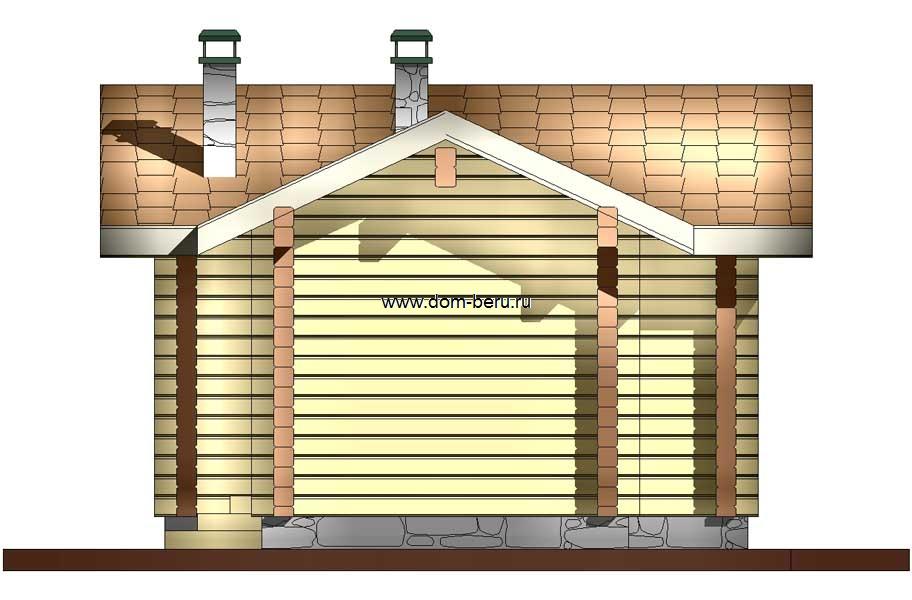 Дома деревянные проекты 6х8 [7]