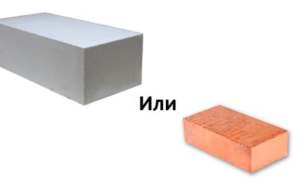 К выбору материала необходимо подходить серьезно, именно от материала зависит окончательный вид строения.