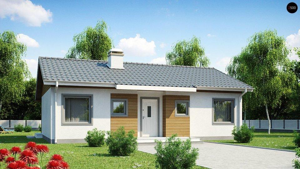 Проект недорогого одноэтажного дома [2]