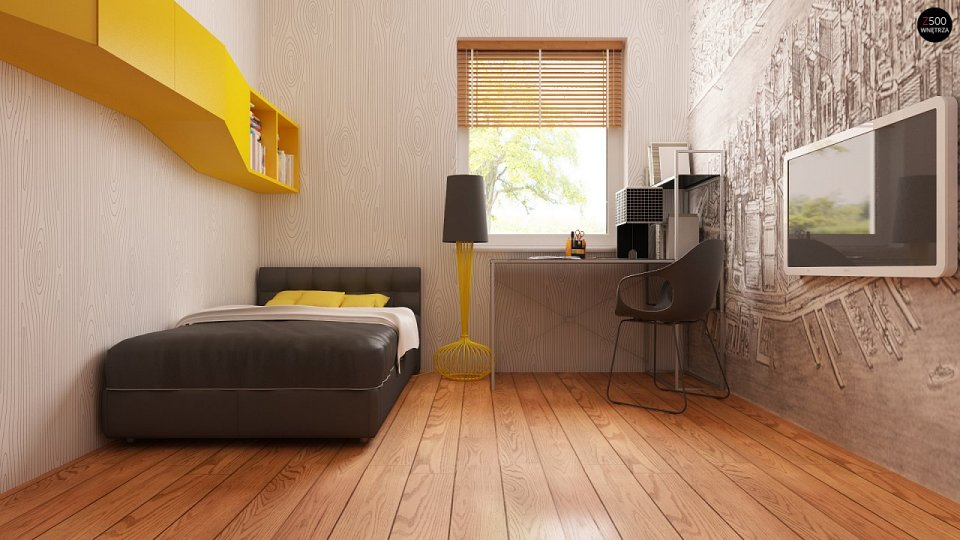 Проект недорогого одноэтажного дома [6]