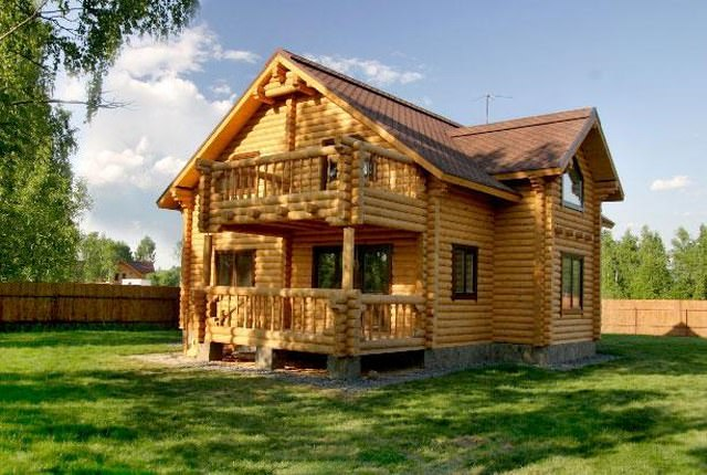 Фото и видео деревянных домов
