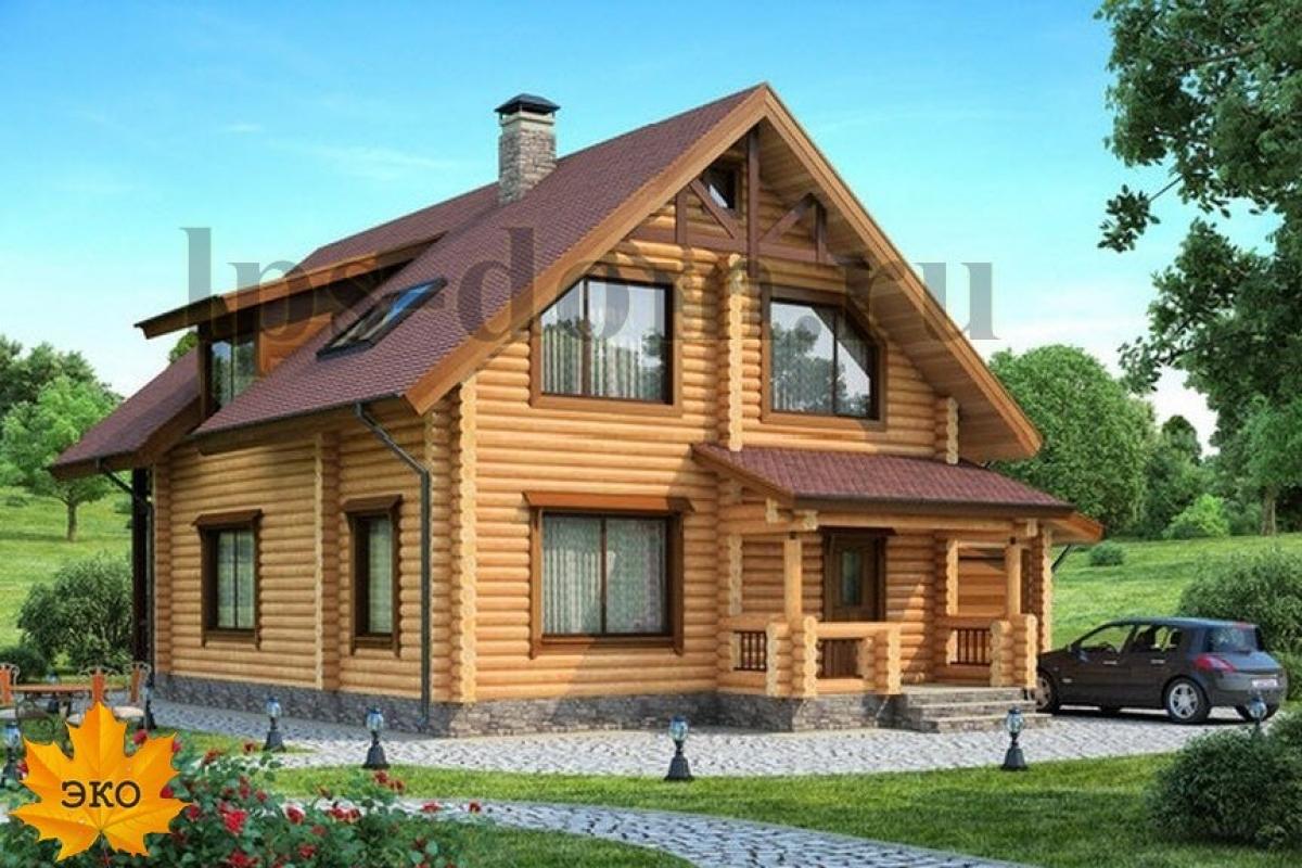 Проекты деревянных домов фото цены [5]