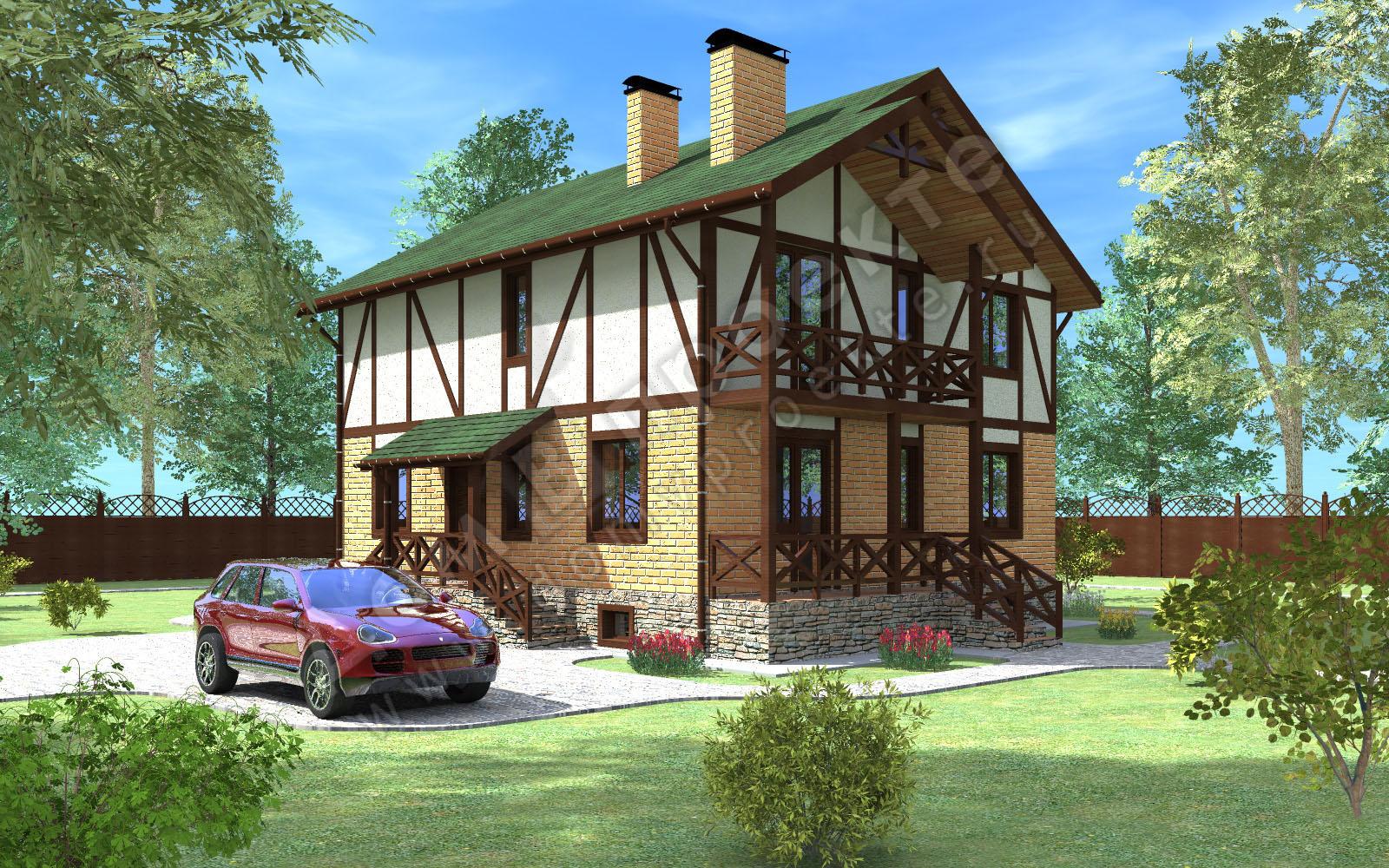 Проекты домов 3 d [1]