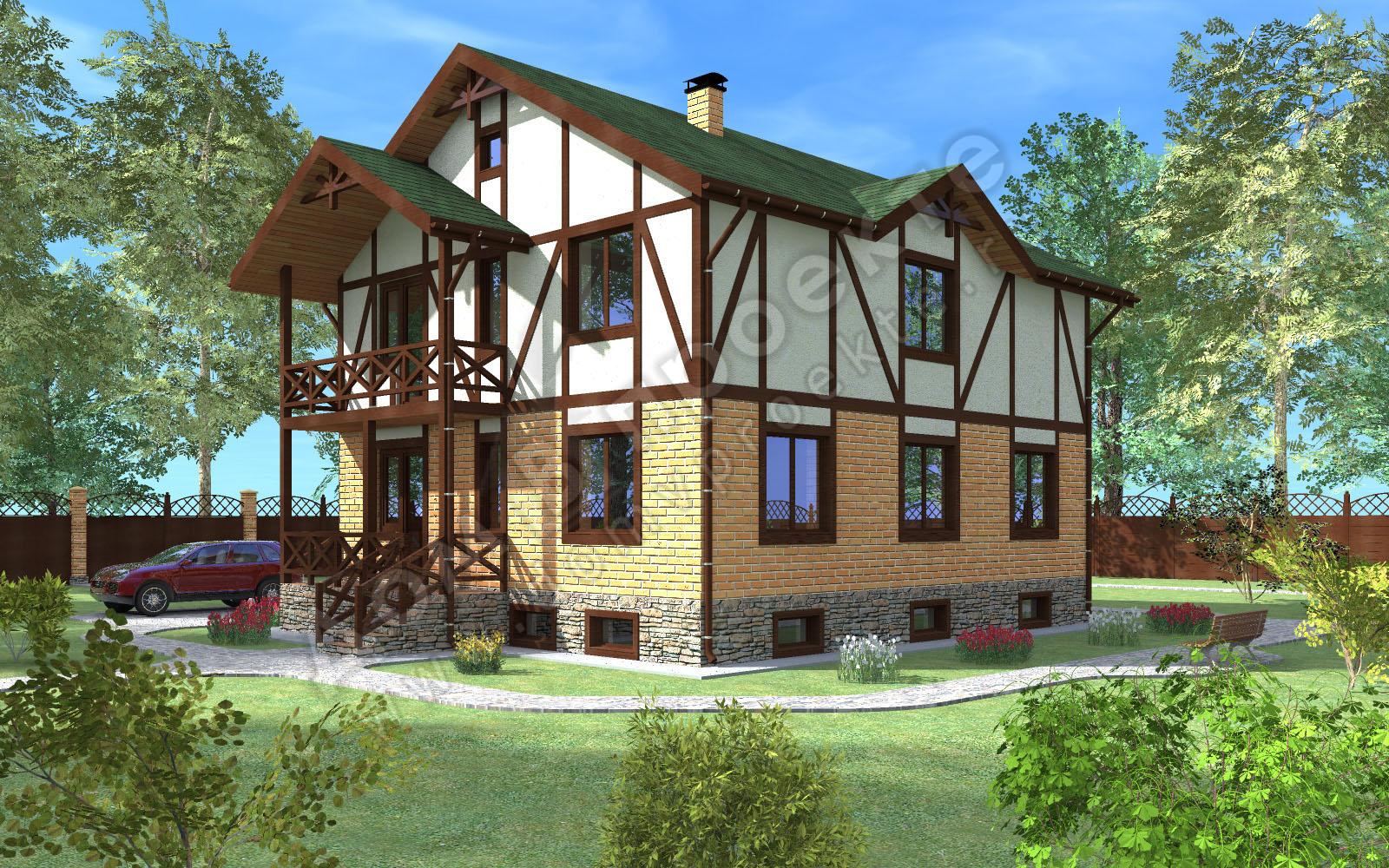 Проекты домов 3 d [2]