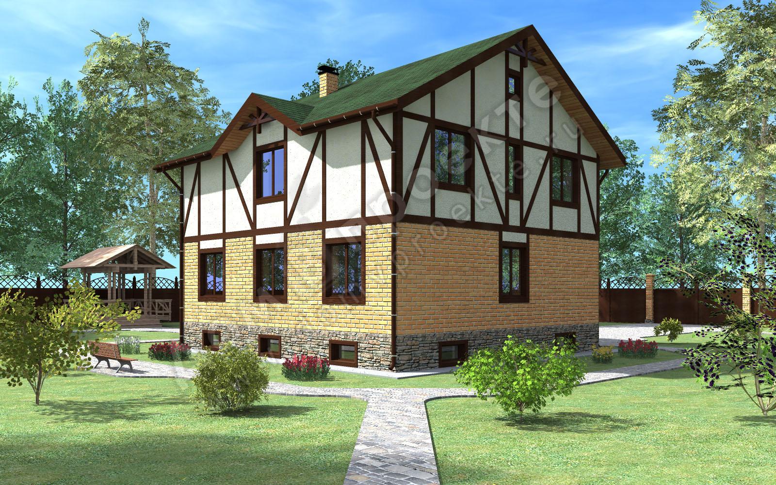 Проекты домов 3 d [3]